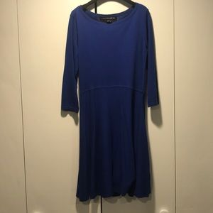 Cobalt blue French Connection sweater dress - 8